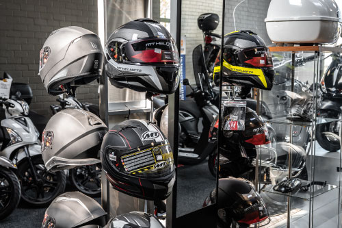 Showroom Scooterhuis